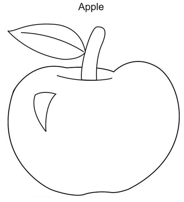 a is for apple coloring page kids drawing of apple coloring page coloring sky is apple a coloring page for