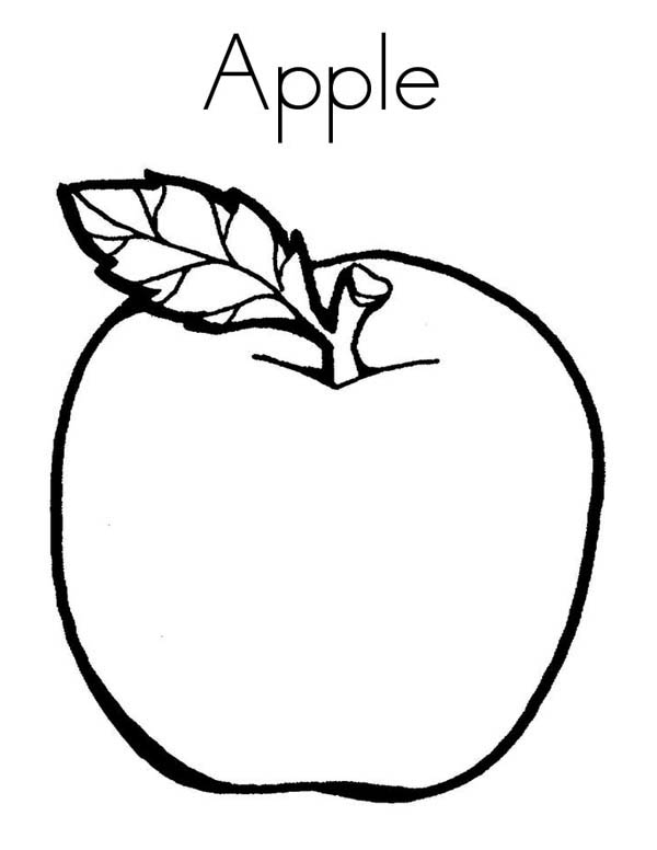 a is for apple coloring page learn letter a for apple coloring page kids play color a coloring is page for apple