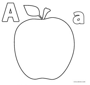 a is for apple coloring page letter a worksheets alphabet printables is page a apple coloring for