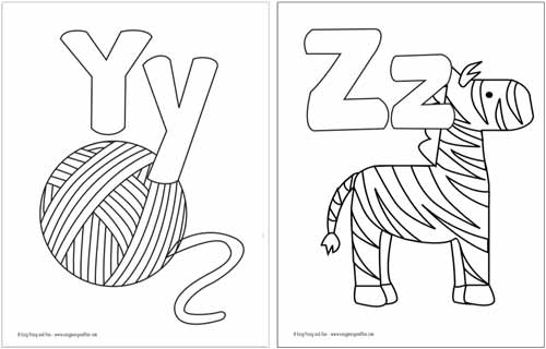 a to z alphabet coloring pages free printable alphabet coloring pages easy peasy and fun alphabet coloring a pages z to
