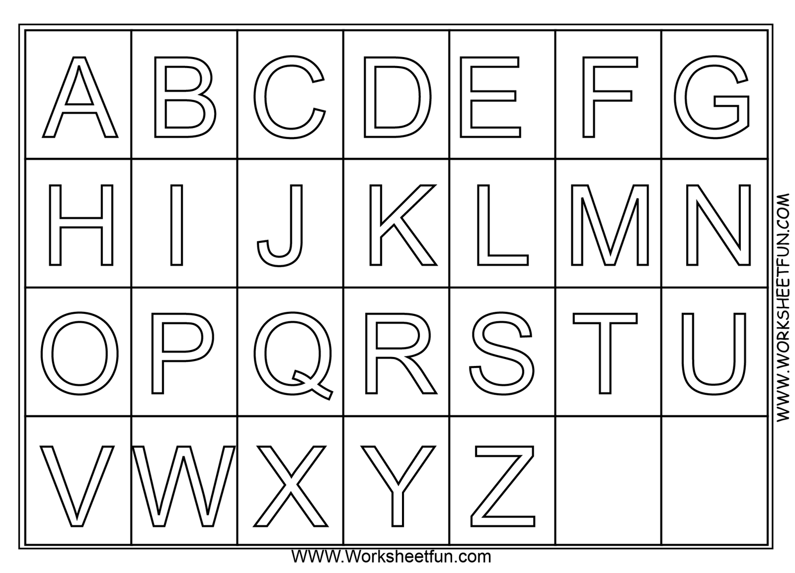 a to z alphabet coloring pages free printable alphabet coloring pages for kids 123 kids a alphabet z to coloring pages
