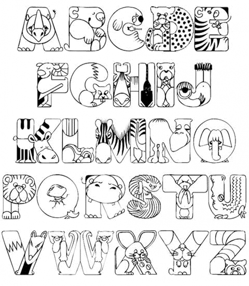 a to z alphabet coloring pages get this alphabet coloring pages for kids 61548 coloring a pages to alphabet z