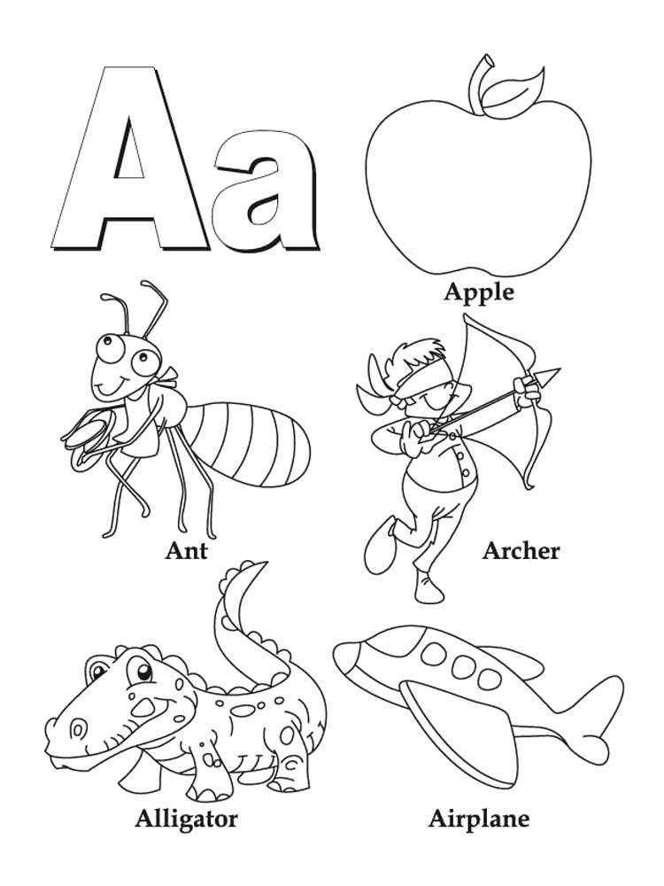 a to z alphabet coloring pages letter a coloring pages of alphabet download and print coloring a to pages alphabet z