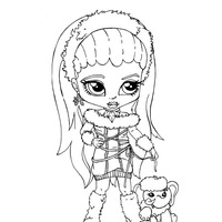 abbey bominable abbey bominable coloring pages monster high bominable abbey