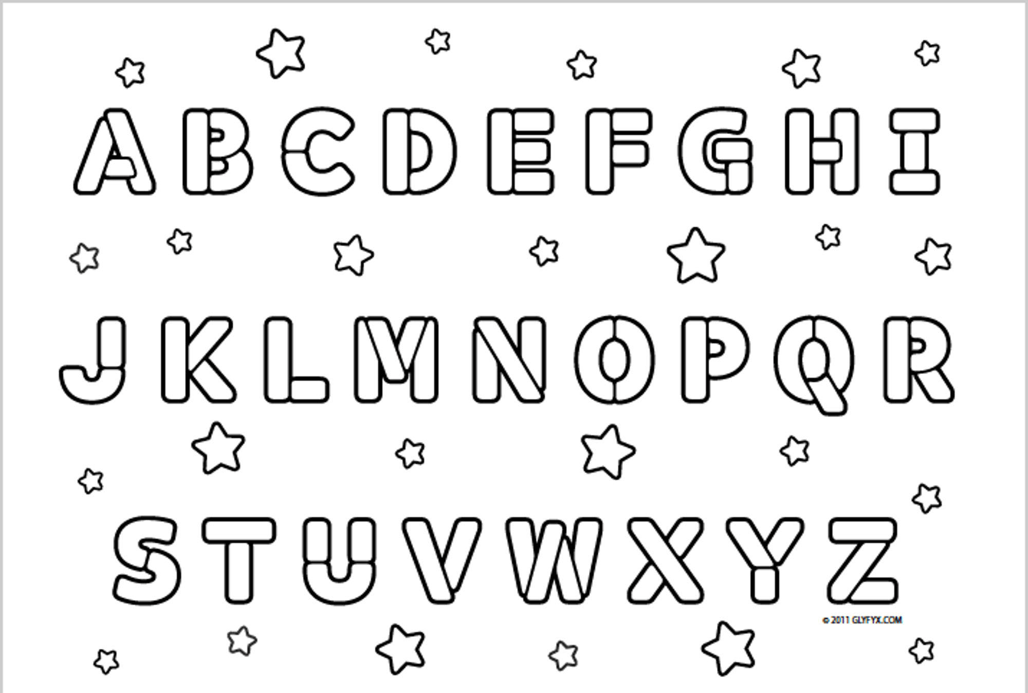 abc alphabet coloring sheets abc blocks coloring pages at getcoloringscom free coloring alphabet sheets abc