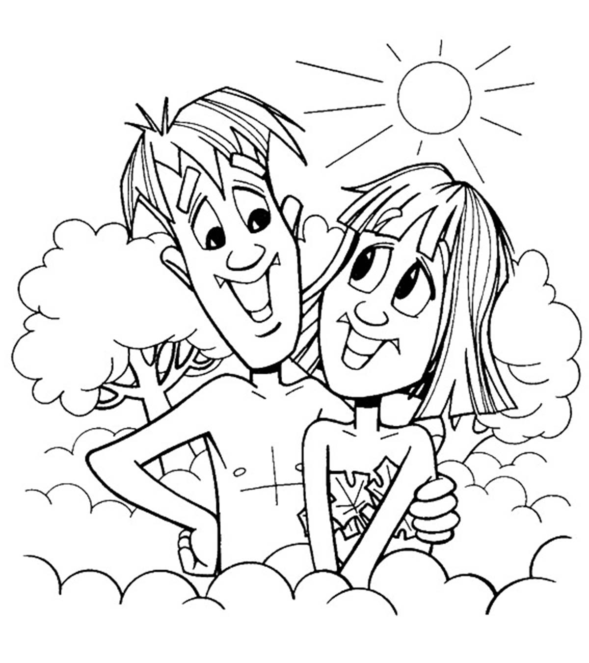 adam and eve coloring sheet bible key point coloring page adam and eve free coloring adam sheet and eve