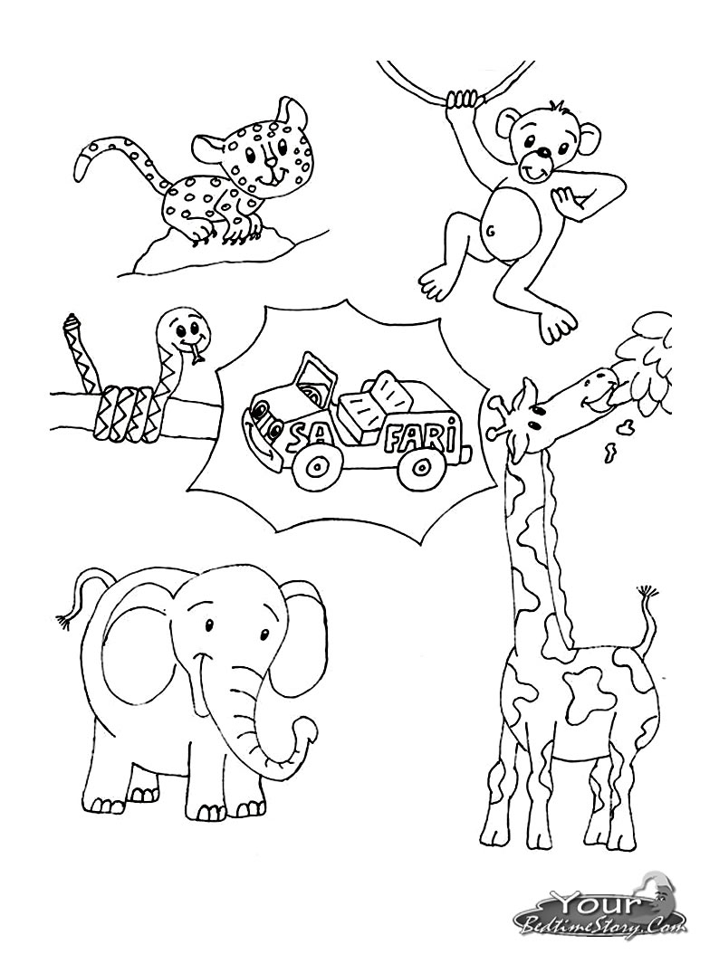 africa animals coloring pages african safari animals coloring pages at getcoloringscom coloring animals africa pages