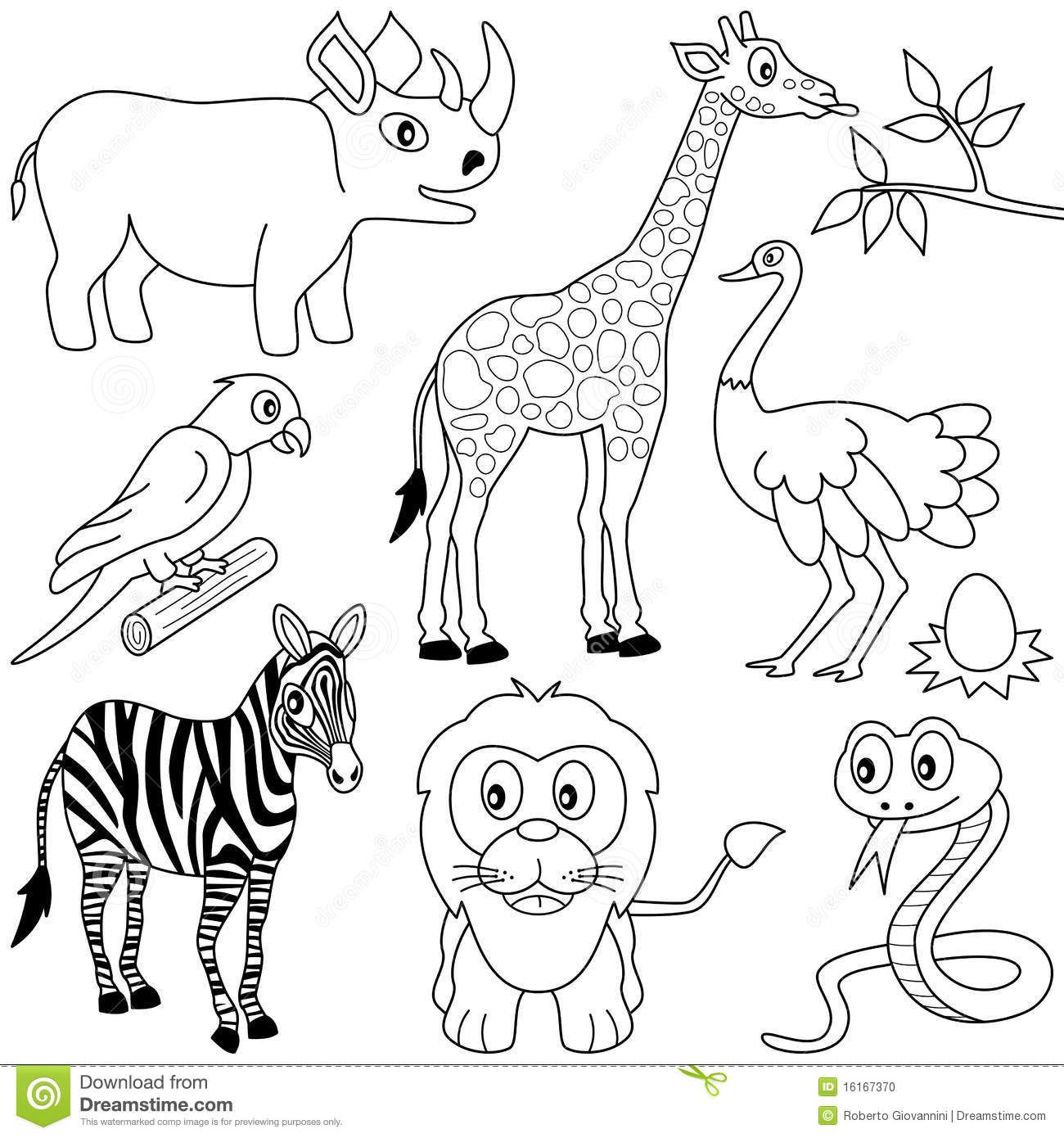 africa animals coloring pages coloring pages for african animals african animals coloring pages africa animals