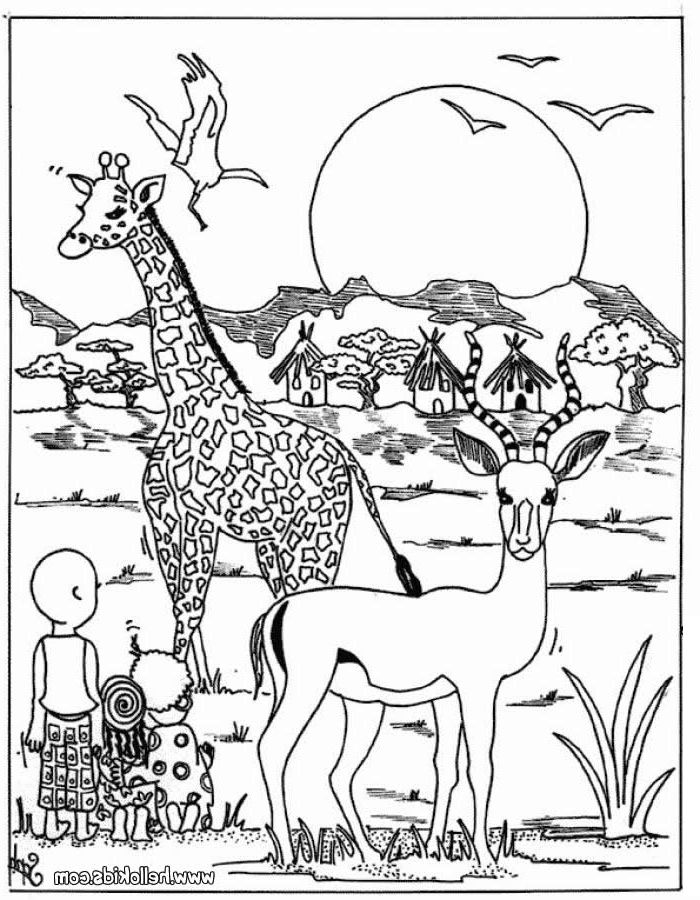africa animals coloring pages wild animal coloring pages animal coloring pages cute animals africa pages coloring