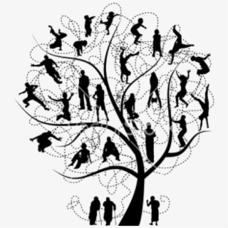 african american family silhouette barnes family reunion tree with roots transparent african family american silhouette