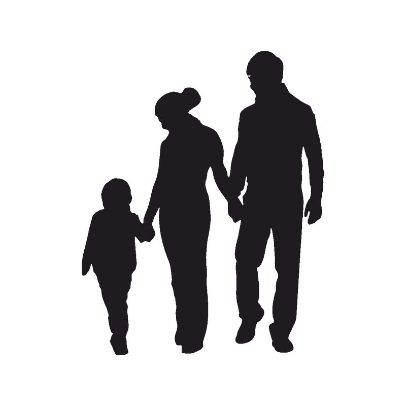 african american family silhouette family reunion family american african silhouette