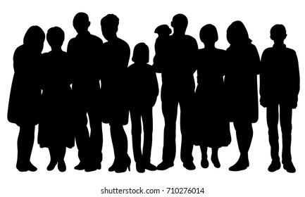 african american family silhouette mom and teenage son images stock photos vectors silhouette african family american