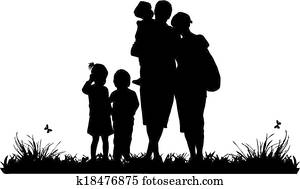 african american family silhouette silhouette stock images our top 1000 silhouette photos silhouette family african american