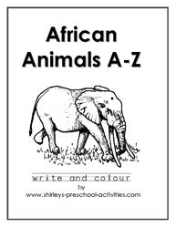african animals printables 17 best images about home school grassland savannah on printables animals african