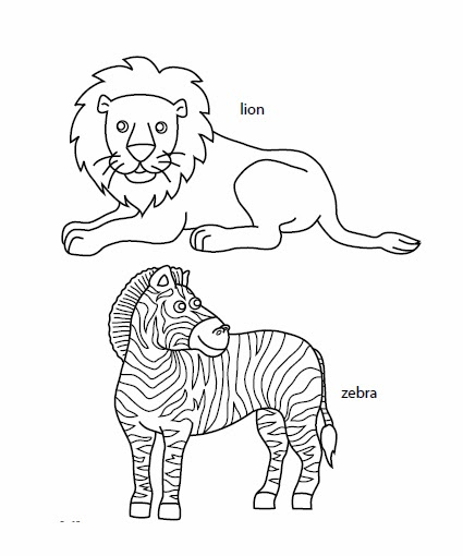 african animals printables african animals drawing at getdrawings free download printables animals african