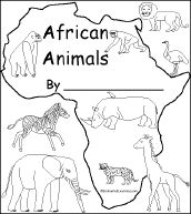 african animals printables draw an african grassland printables animals african