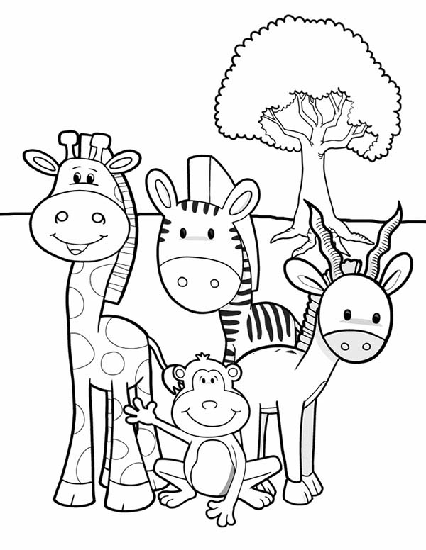 african animals printables meet animals at african safari coloring page coloring sky african animals printables