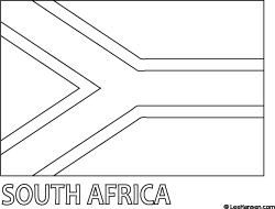 african flags south africa flag colouring page with images south flags african