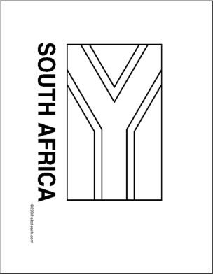 african flags south african flag illustrations royalty free vector flags african