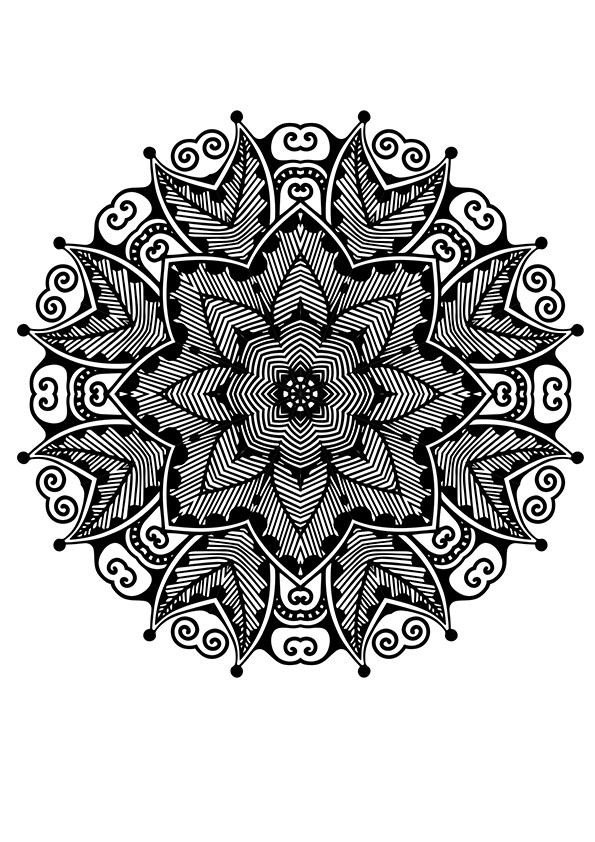 african mandala coloring pages african mandala of ghana coloring page free coloring mandala african pages coloring