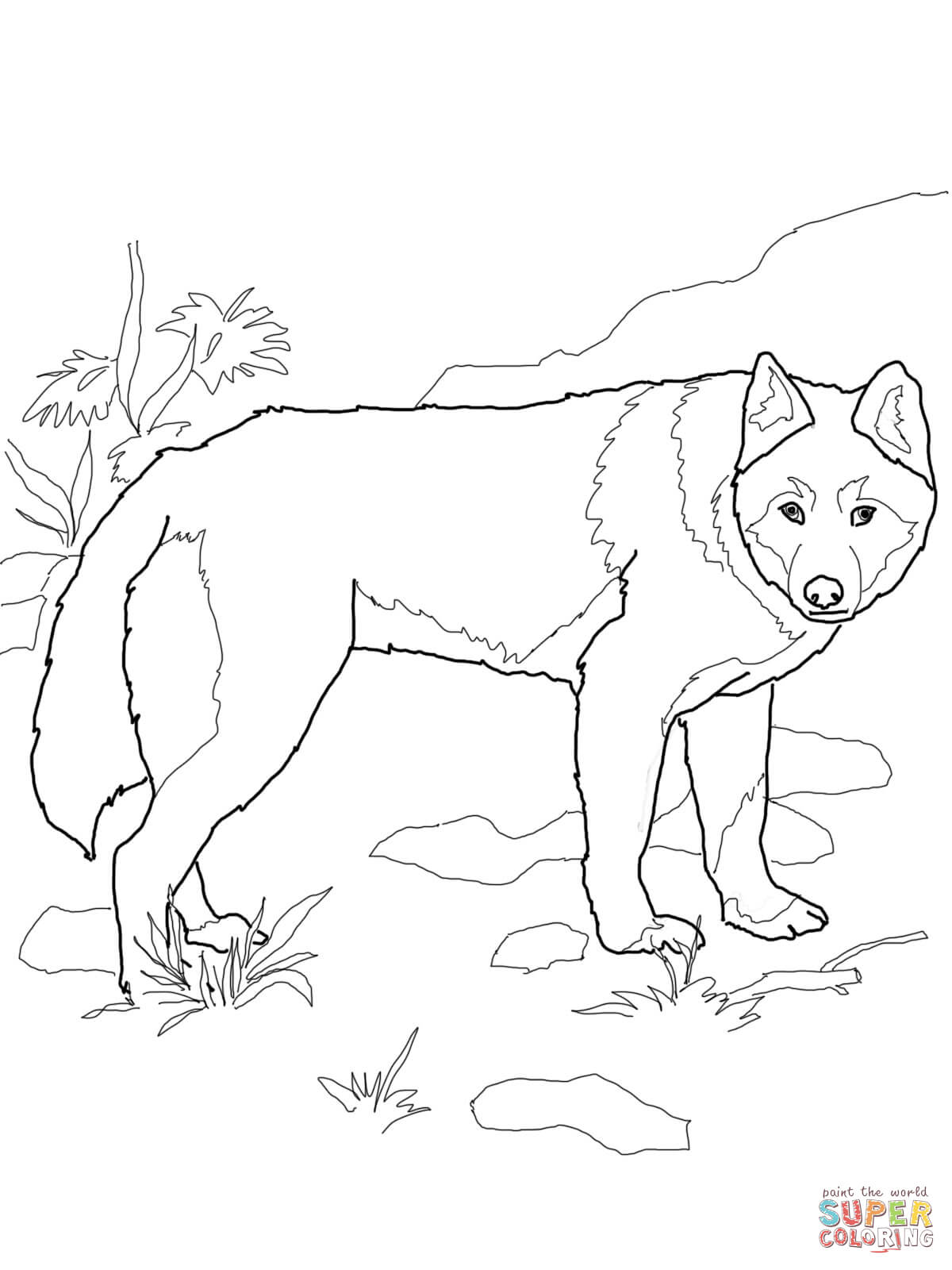 african wild dog coloring page african wild dog coloring page at getcoloringscom free dog african coloring wild page