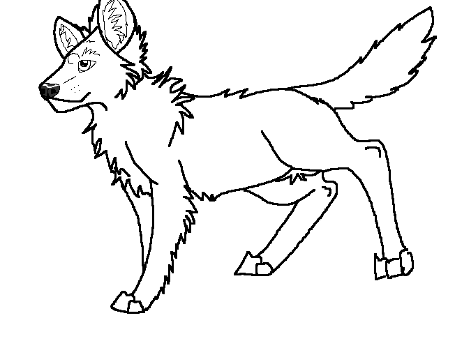 african wild dog coloring page african wild dog coloring page at getcoloringscom free page coloring dog african wild