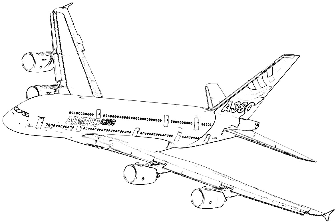 airbus a380 coloring pages airbus a380 coloring pages coloring pages a380 airbus