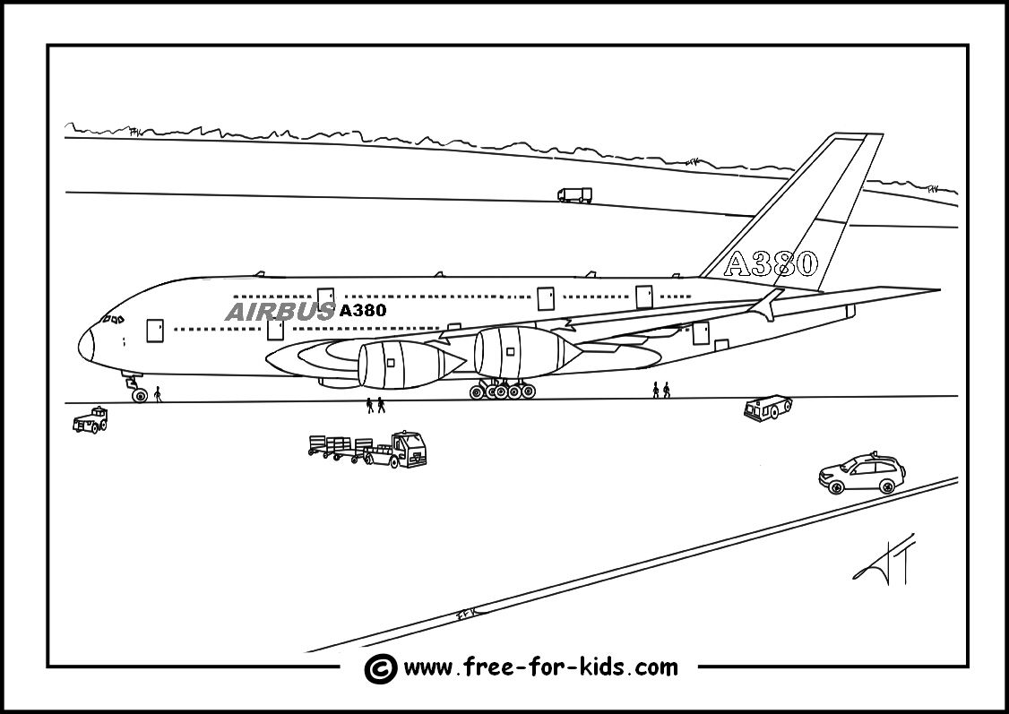 airbus a380 coloring pages airbus a380 coloring sheet coloring pages coloring a380 airbus pages