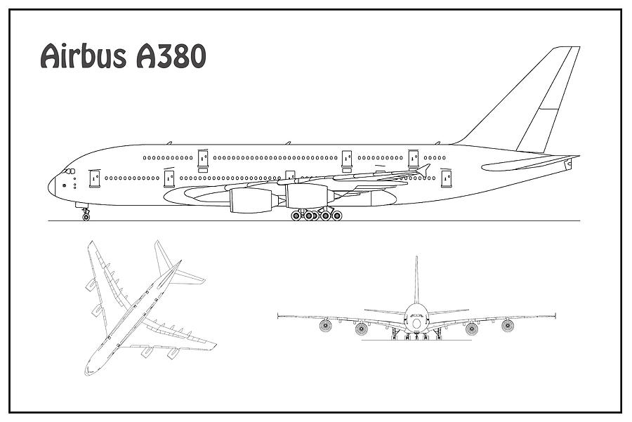 airbus a380 coloring pages gift airbus a380 line art by ex machinart on deviantart a380 airbus coloring pages