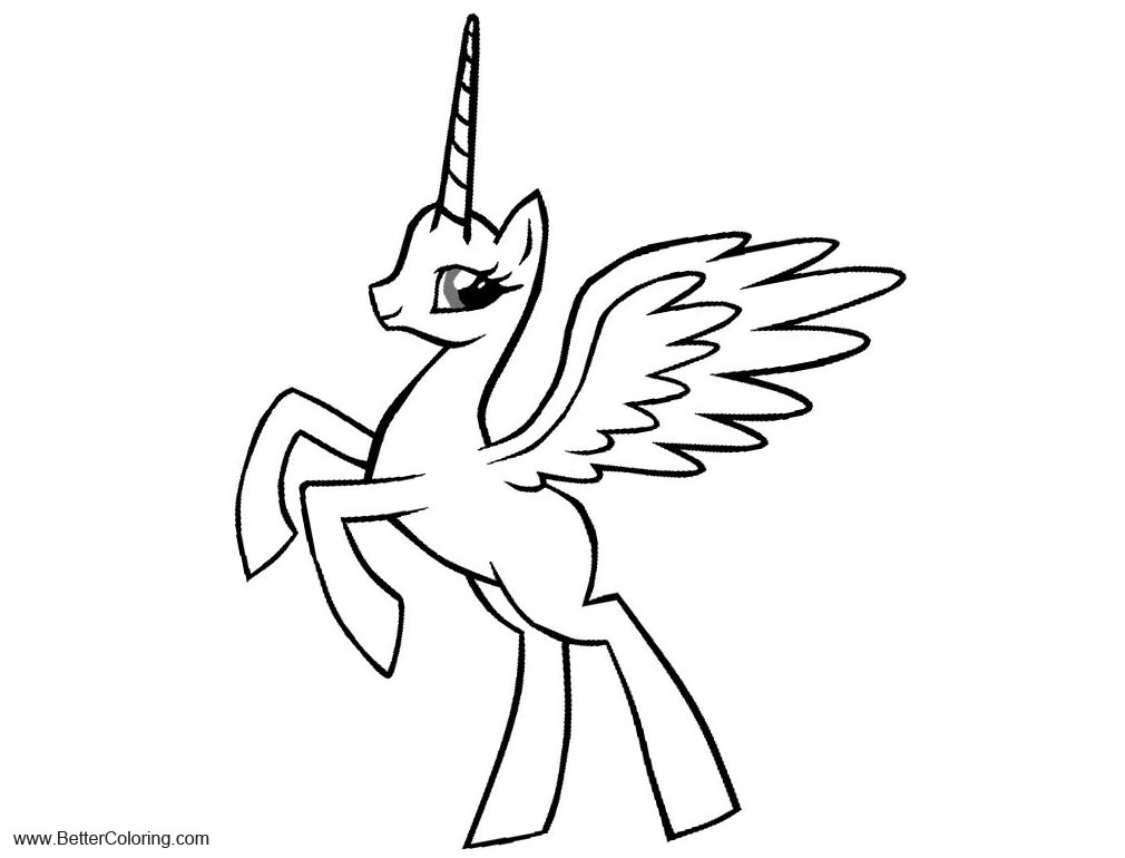 alicorn mlp coloring page alicorn mare stencil free by sassymewthree19 on deviantart alicorn mlp coloring page