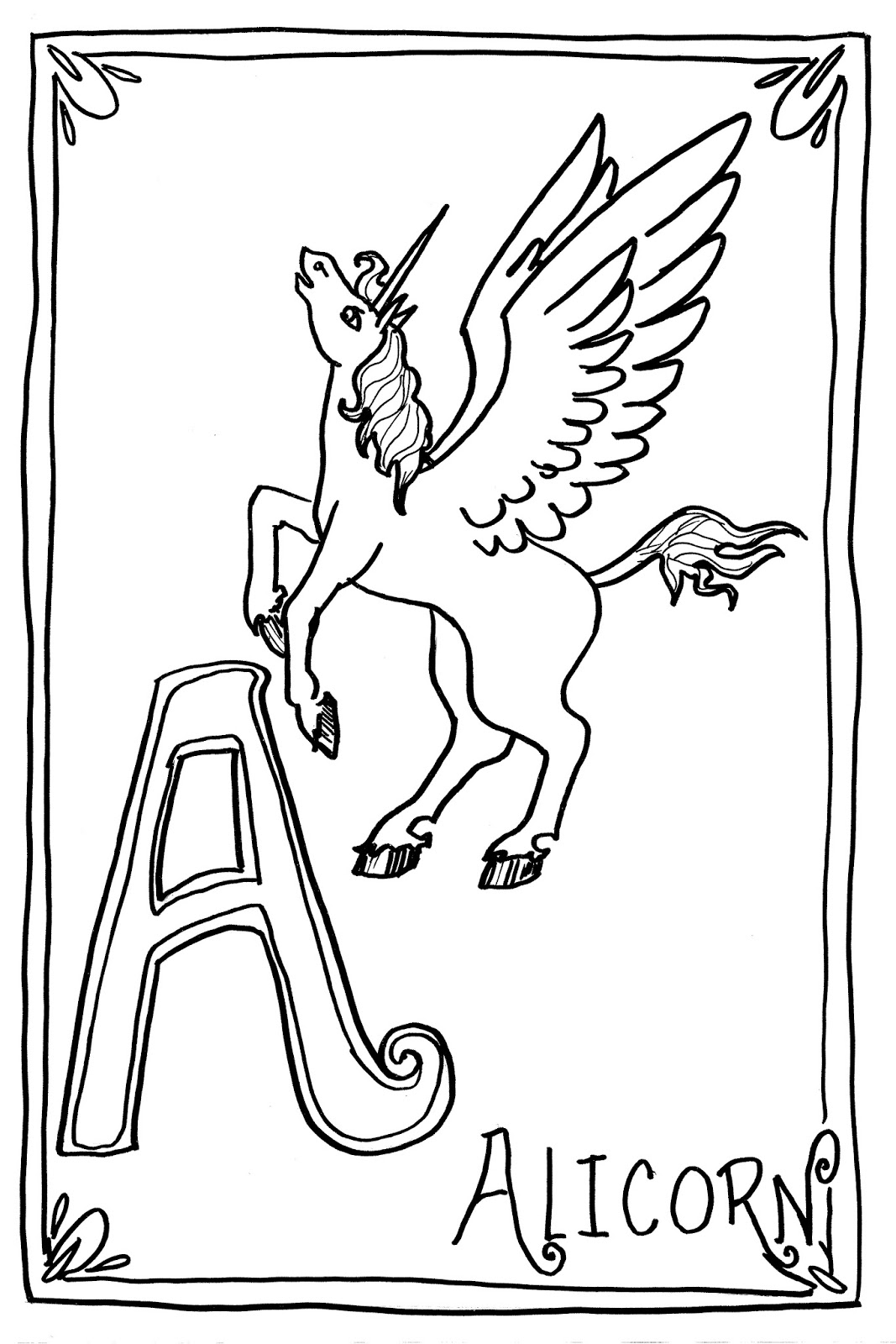 alicorn mlp coloring page alicorn pages coloring pages alicorn mlp page coloring
