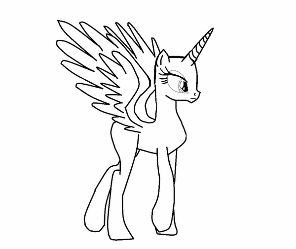 alicorn mlp coloring page collection of mlp clipart free download best mlp clipart page mlp alicorn coloring