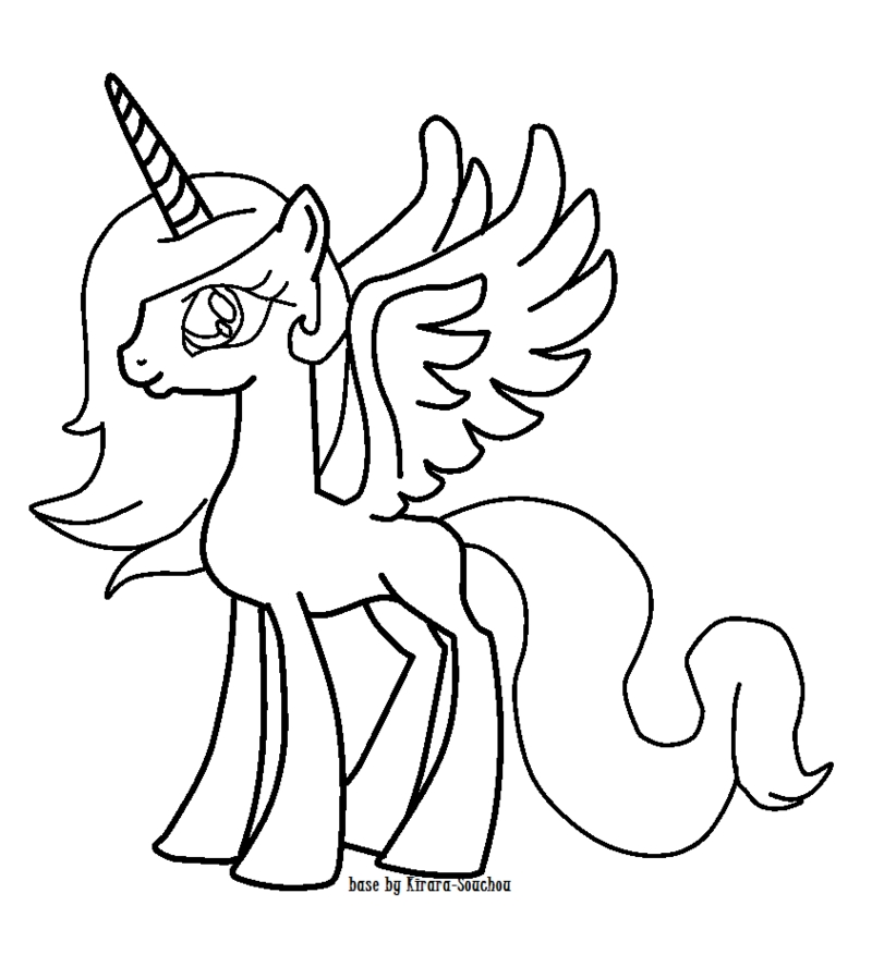 alicorn mlp coloring page the best free alicorn coloring page images download from mlp page alicorn coloring