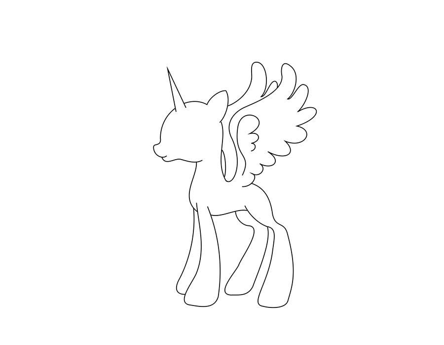 alicorn mlp coloring page twilight sparkle alicorn coloring pages at getcolorings alicorn coloring page mlp