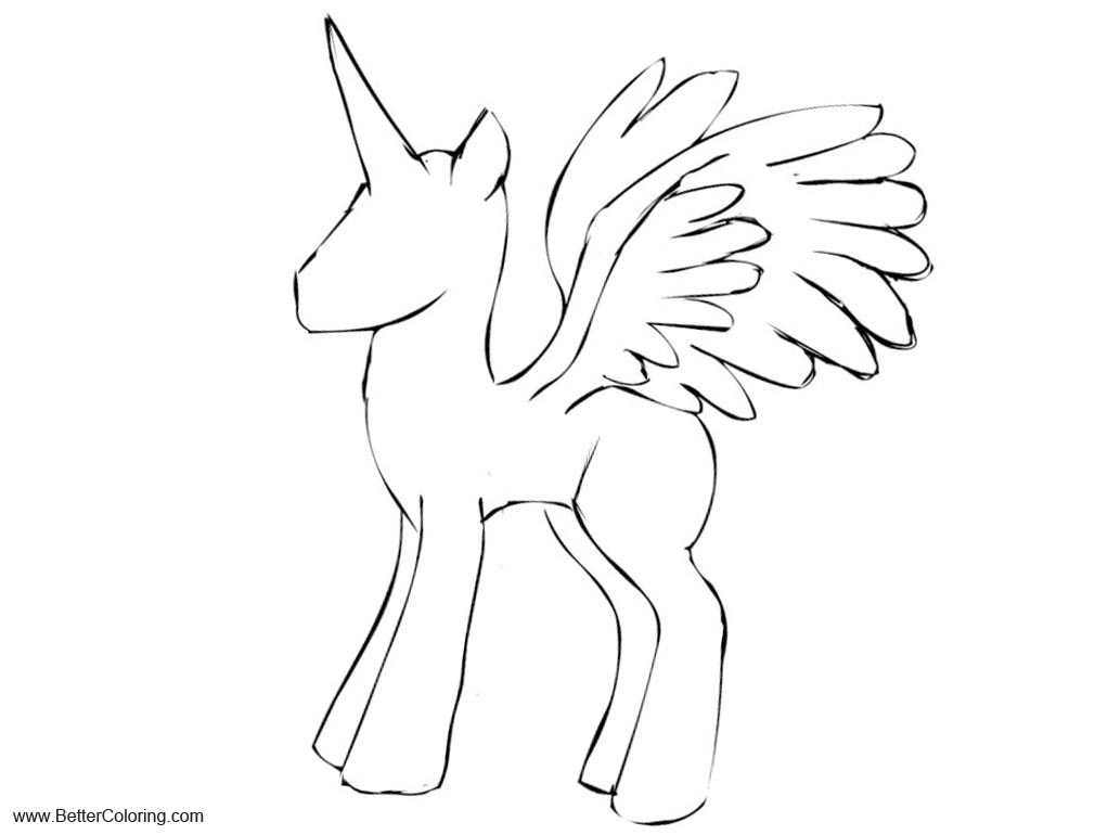 alicorn mlp coloring page young alicorn mare stencil free by sassymewthree19 on mlp coloring alicorn page