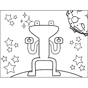 alien spaceship coloring pages ufo in space coloring page spaceship pages alien coloring
