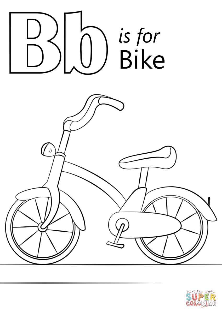 alphabet b coloring pages letter b coloring pages at getcoloringscom free b coloring alphabet pages