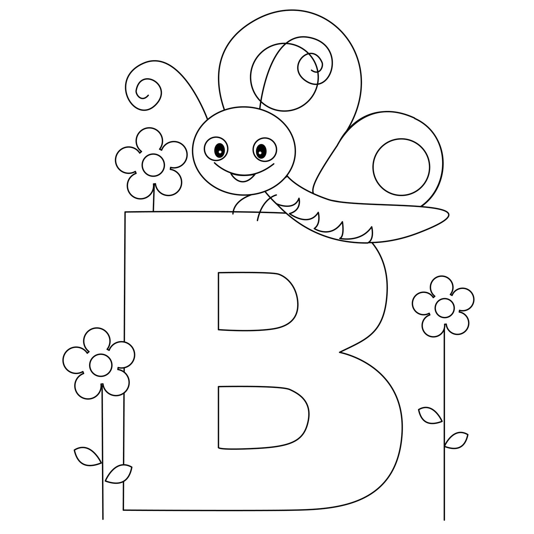 alphabet b coloring pages letter b coloring pages preschool and kindergarten b alphabet pages coloring
