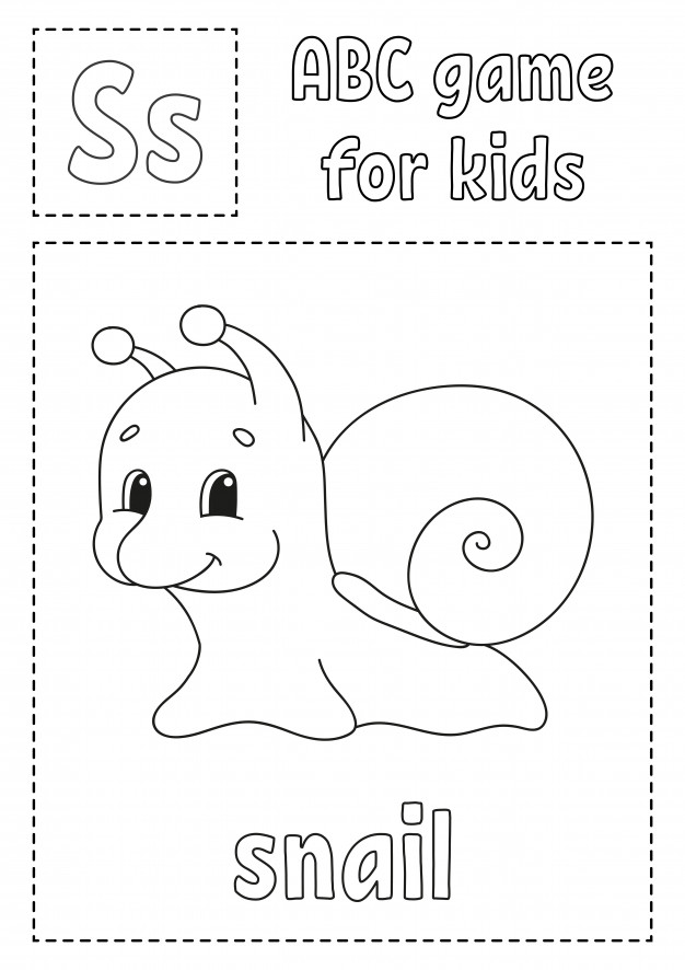 alphabet coloring pages free premium vector abc game for kids alphabet coloring page alphabet coloring pages free