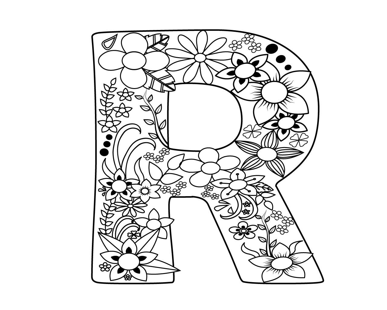 alphabet coloring pages r best and easy letter r coloring pages to print coloring alphabet coloring pages r