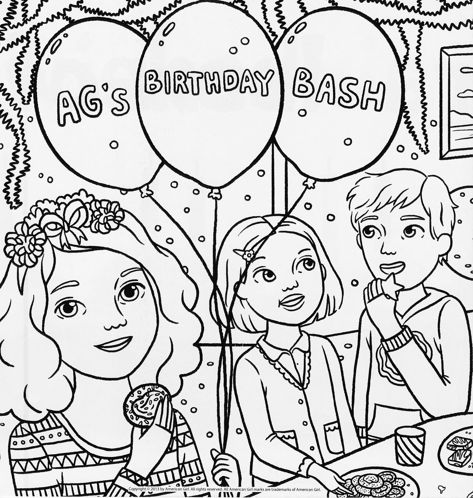 american girl coloring page american girl doll coloring pages educative printable american coloring girl page