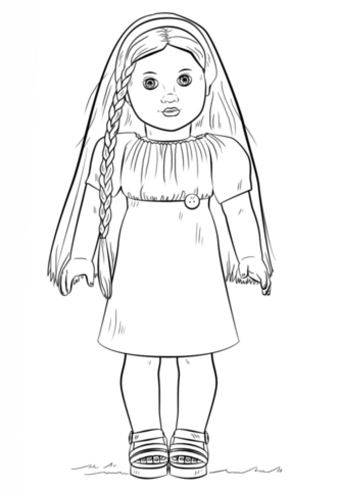 american girl coloring page american girl doll coloring pages printable activity shelter page girl american coloring