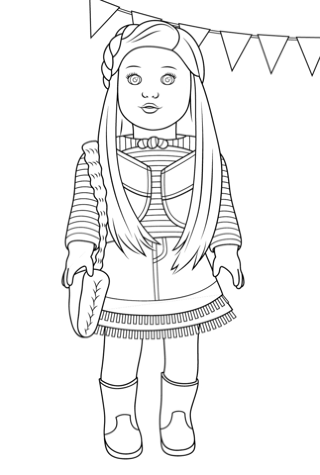 american girl coloring page my cup overflows kit kittredge an american girl american girl coloring page