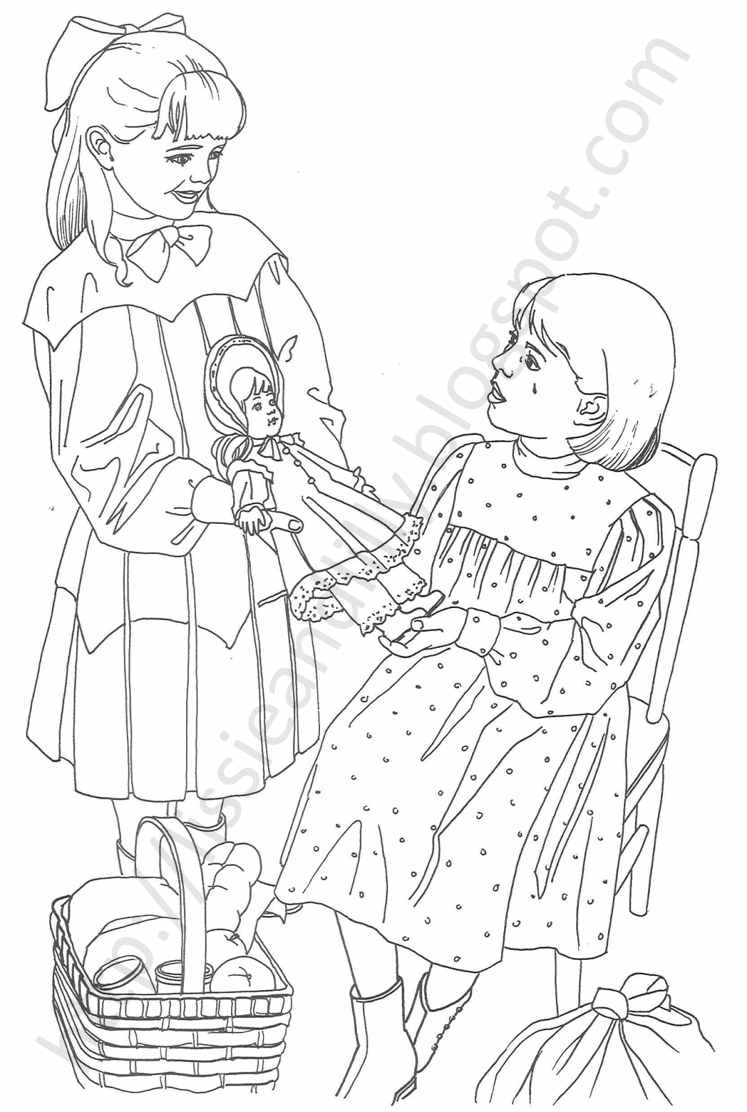 american girl coloring pages grace american doll lea closeup coloring page american boy coloring girl pages grace american