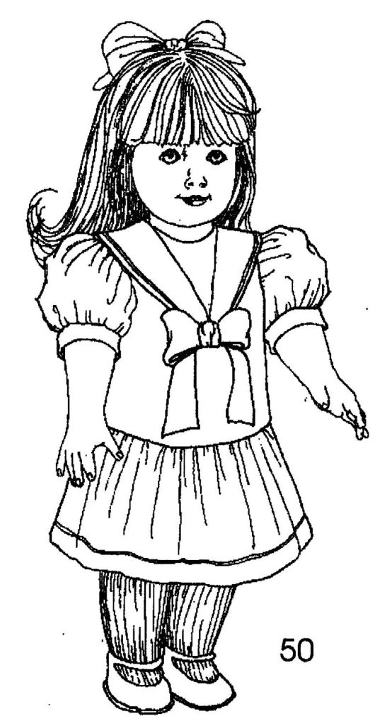 american girl doll coloring page ag bandeau doll coloring page wecoloringpagecom girl doll coloring page american
