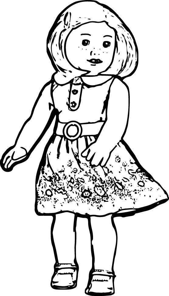 american girl doll coloring page american girl coloring pages  best coloring pages for kids american coloring girl doll page