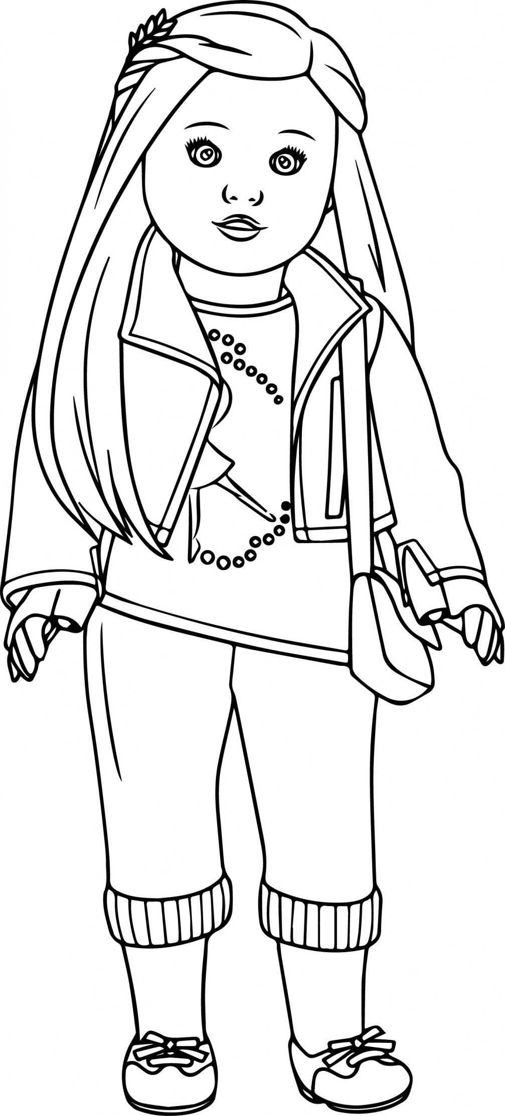 american girl doll coloring page american girl coloring pages  best coloring pages for kids doll page coloring girl american