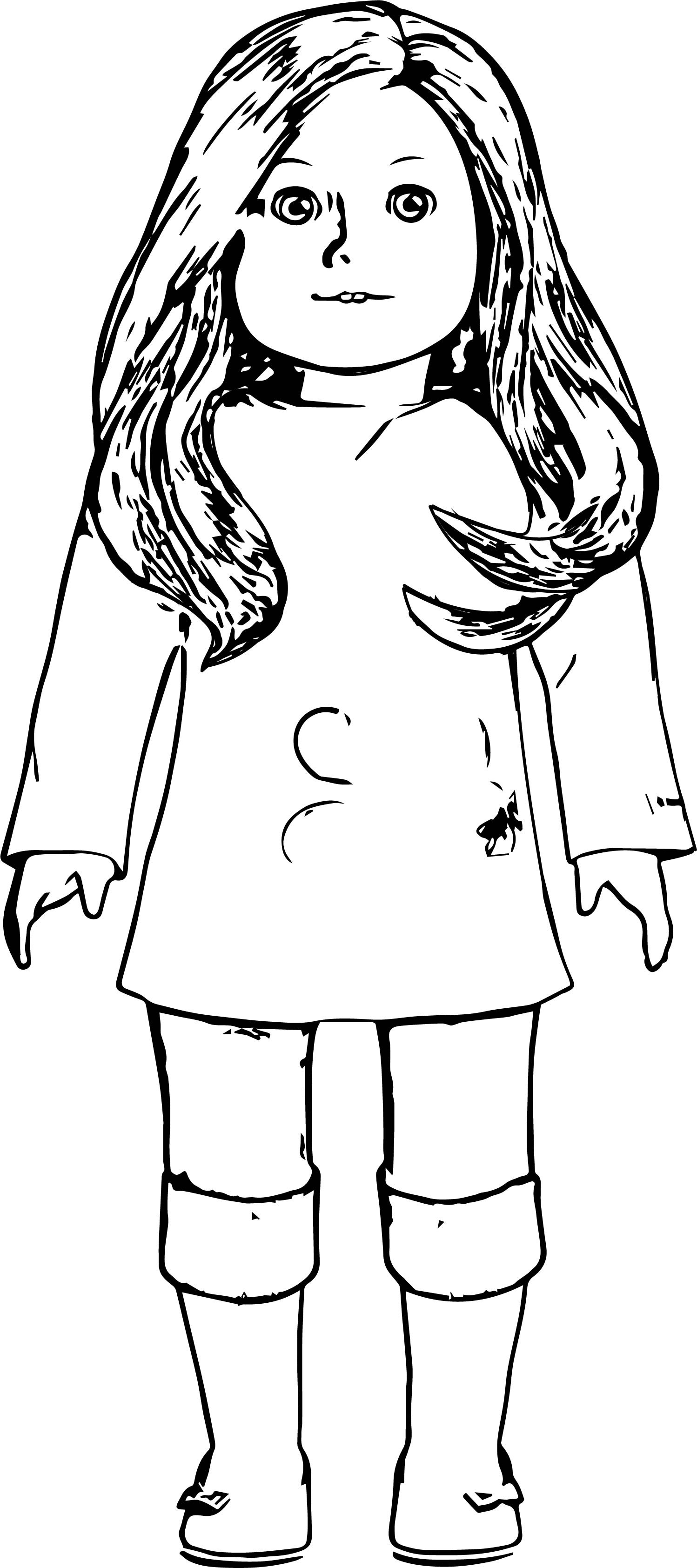 american girl doll coloring page american girl coloring pages  best coloring pages for kids page girl coloring doll american
