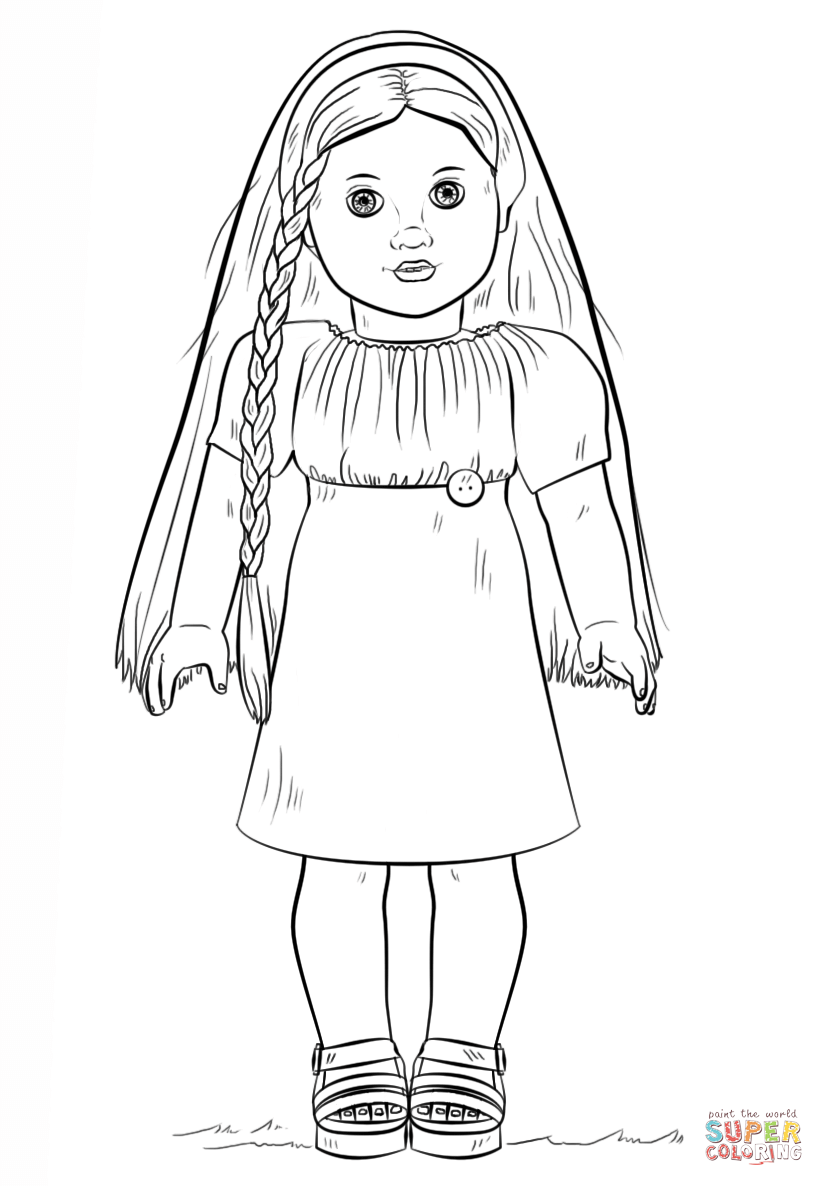american girl doll coloring page american girl doll coloring pages to download and print american girl doll page coloring