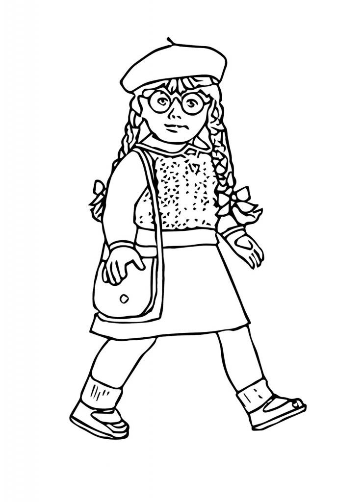 american girl doll coloring page american girl doll coloring pages with images kolorowanki coloring american page doll girl